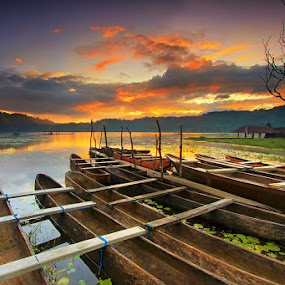 tamblingan by Krishna Mahaputra - Landscapes Sunsets & Sunrises