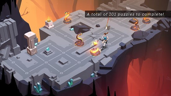 Lara Croft GO 2.1.78143 (Retail & Mod) Apk + Data