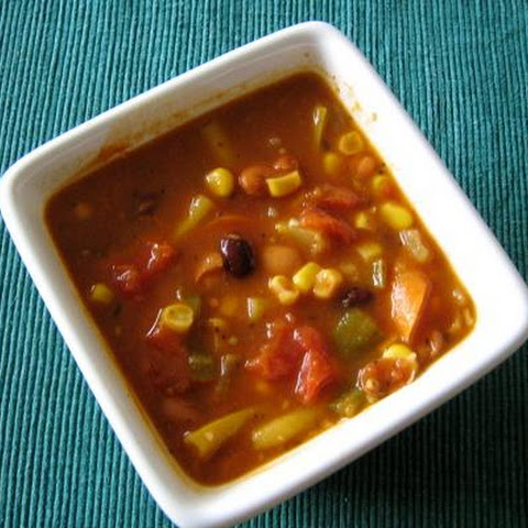 Pinto and Black Bean Soup