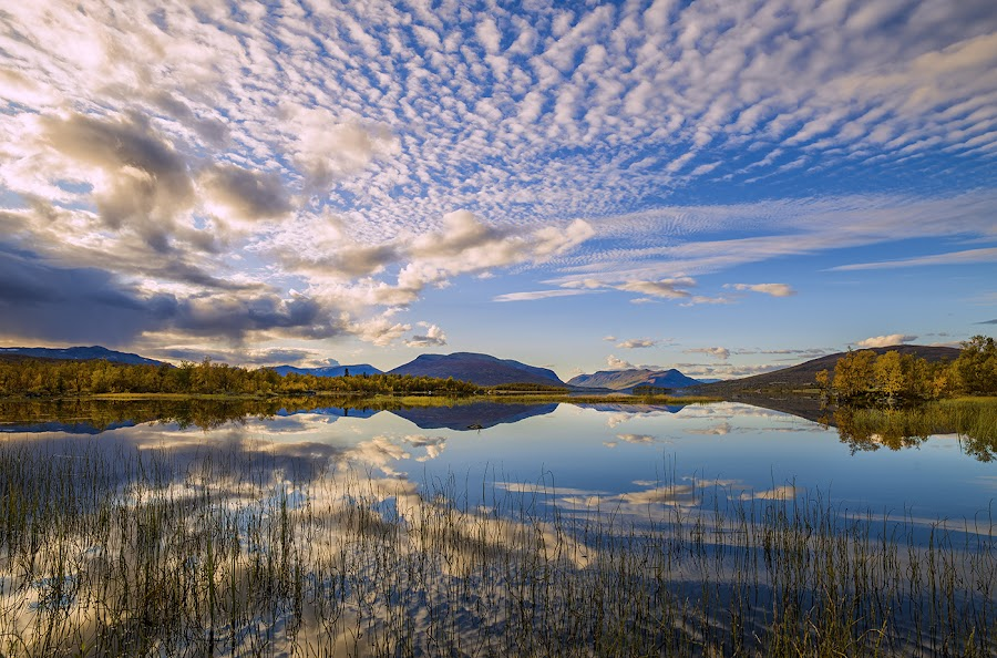 by John Aavitsland - Landscapes Sunsets & Sunrises ( 2017, water, mountains, summnight, august, norway )