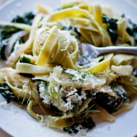 Pasta with Fennel, Kale, & Lemon