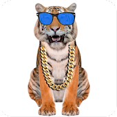 Download Android App Funny Talking Tiger for Samsung