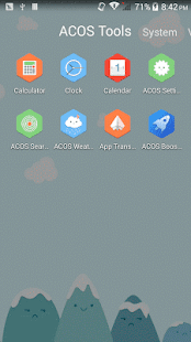 Smiling Color ACOS Theme - screenshot