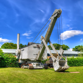 Beamish Digger HDR by Em Ell - Novices Only Objects & Still Life ( hdr )