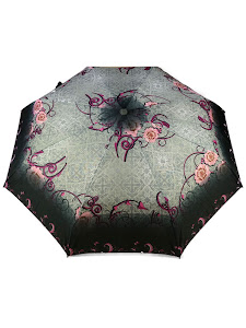 "Зонт ""Компакт S"", черно-розовый 2"
