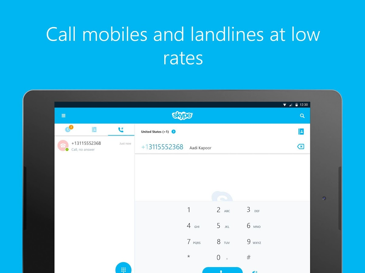 Skype - free IM & video calls Screenshot 8