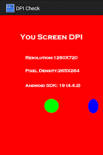 DPI Check - screenshot