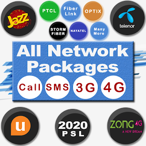 All Network Packages 2020 (Jazz Zong Ufone Telenr) For PC / Windows 7/8/10 / Mac – Free Download