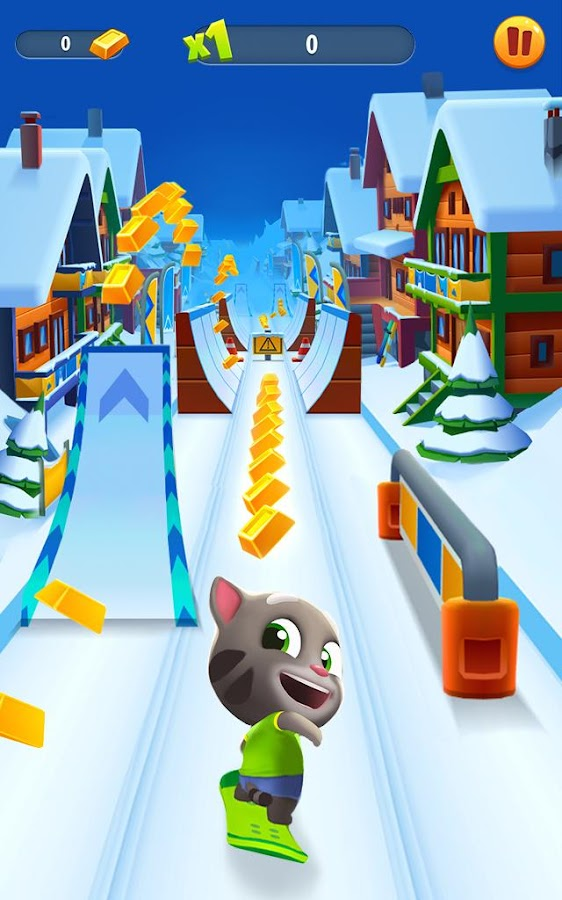 Talking Tom Gold Run Screenshot 13