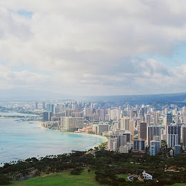 Waikiki  by Jeff Juntilla - Landscapes Travel