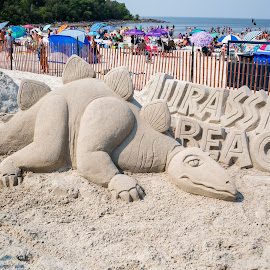 Grand Beach by Dave Lipchen - Artistic Objects Other Objects ( grand beach,  )
