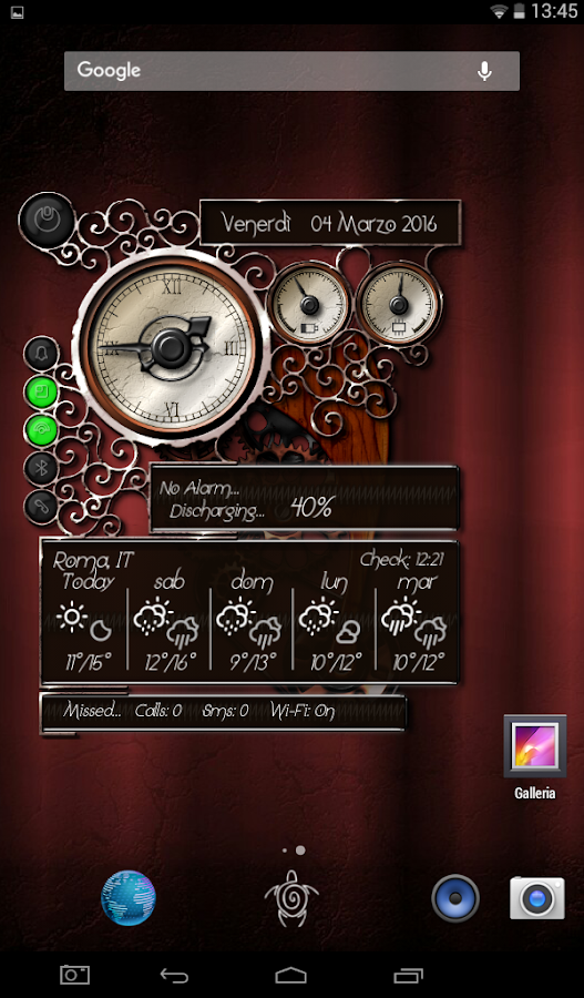 XtraOClock Steampunk Widget Screenshot 15