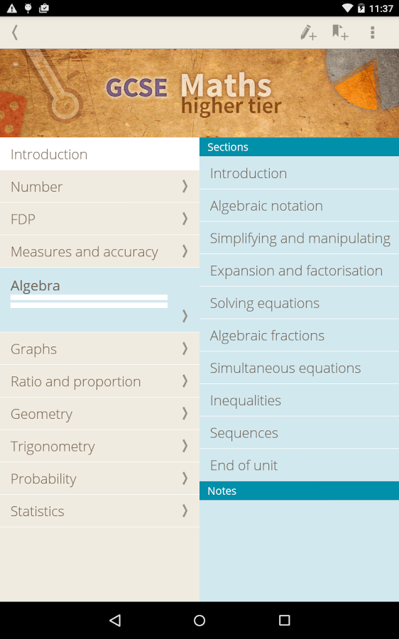 GCSE Maths Higher 2015-17 Screenshot 7