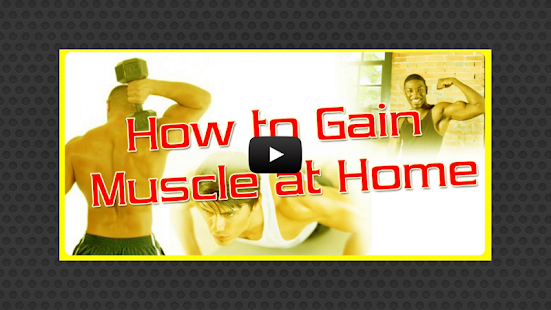 How To Gain Muscle At Home - screenshot