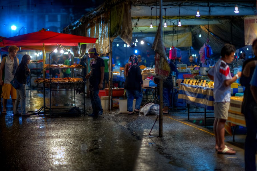by Mohamad Sa'at Haji Mokim - City,  Street & Park  Markets & Shops