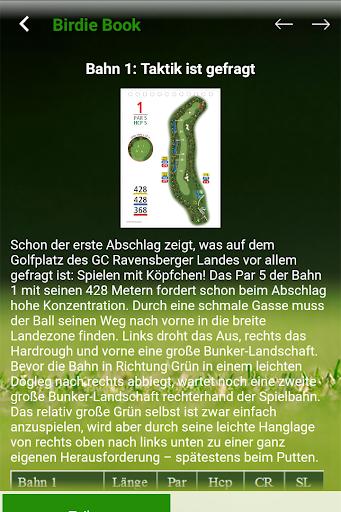 GC Ravensberger Land e.V. 2017 - screenshot