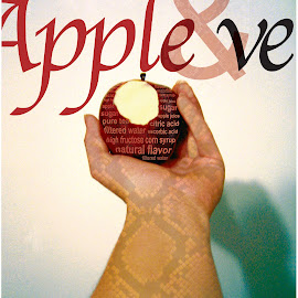 Apple&Eve by KM H - Typography Captioned Photos
