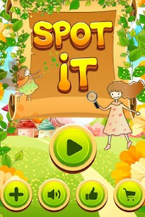 Spot It! Fairy House - screenshot