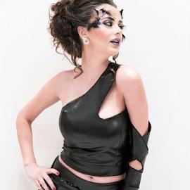 Black is my Color by Adeel Anwar - People Fashion ( fashion, sexy, style, stylish, adeelzzz )