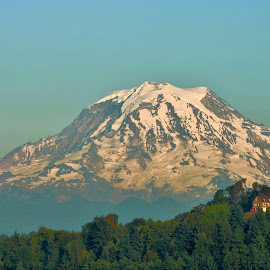 Mount Rainier by Kurt Bailey - Landscapes Mountains & Hills