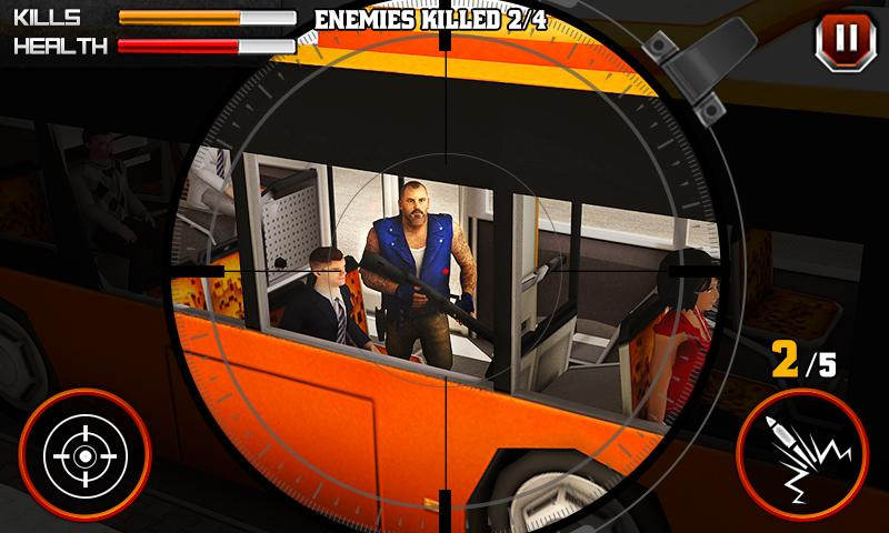 Gangster Escape Shooter 3D Screenshot 0