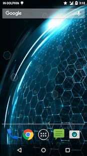 Honeycomb Live Wallpaper - screenshot