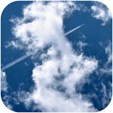 Flying Through Clouds HD LWP