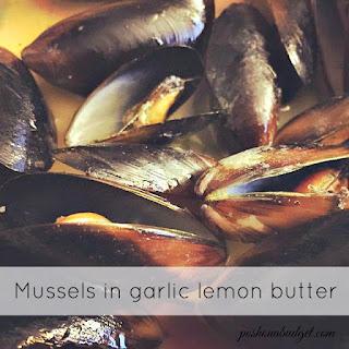 Garlic Lemon Butter Mussels Recipes
