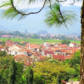Sumedang view 1 by Alnia Furwani Maulina - City,  Street & Park  Neighborhoods