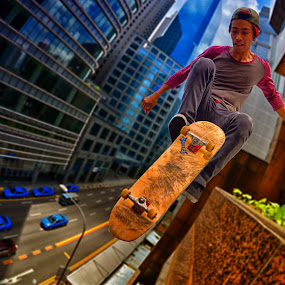 Opss by Jimmy Chiau - Sports & Fitness Skateboarding ( skateboarding, fitness, sports, singapore, city )