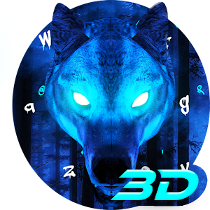 Ice Wolf 3D Keyboard Theme For PC / Windows 7/8/10 / Mac – Free Download