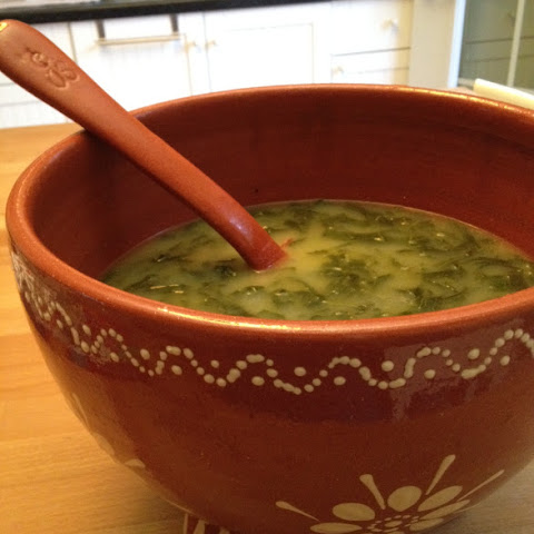 Caldo Verde…Collard greens soup