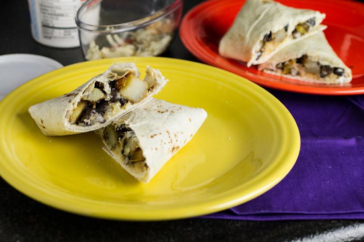 Potato and Black Bean Burrito Recipe | Yummly