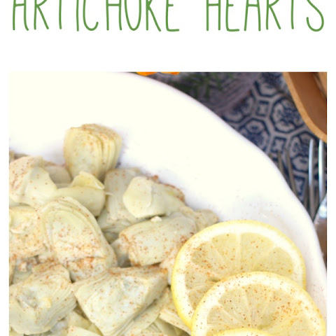 White Wine Lemon Butter Artichoke Hearts