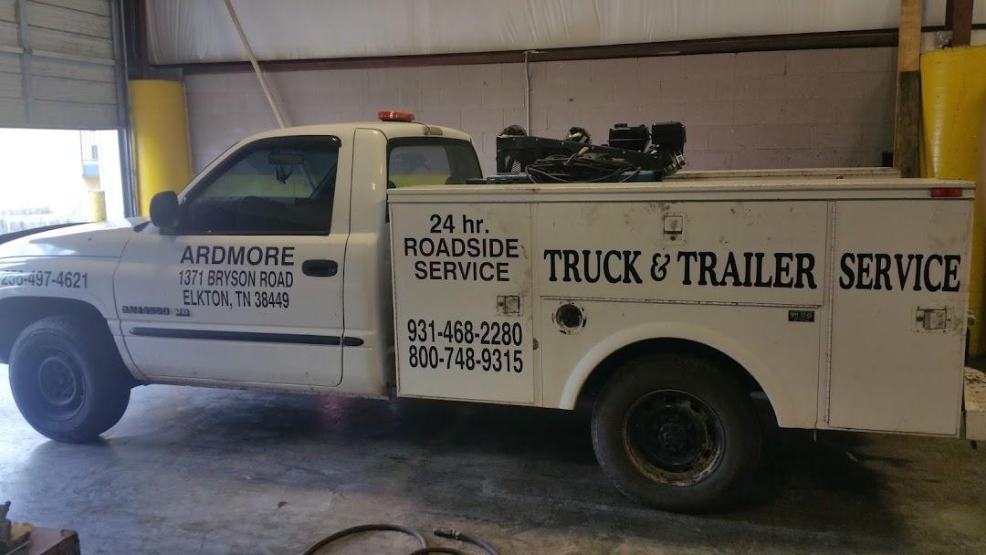 ardmore truck trailer service 24 7 road side service truck repair shop in elkton. Black Bedroom Furniture Sets. Home Design Ideas