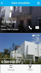 Akkor Immobilier - screenshot