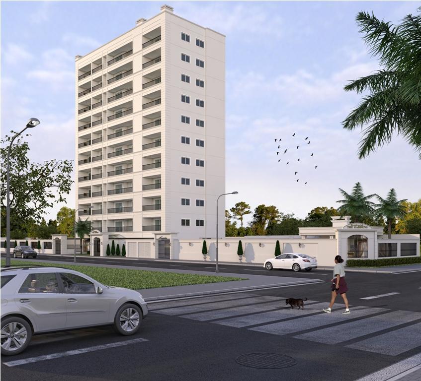 Apartamento RESIDENCIAL THE GARDENS, PRÉDIO mais ALTO de Itapoá/ SC, 85 m² por R$ 440.000 , na quadra do mar!
