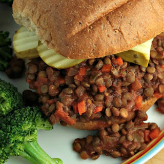 Sloppy Lentils [Vegan]