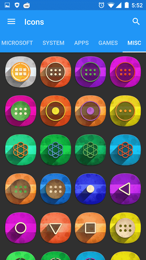 Classic Material Icon Pack Screenshot 8