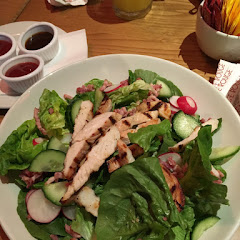 Grilled chicken salad - it tasted lovely