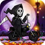 Halloween Town Racing Icon