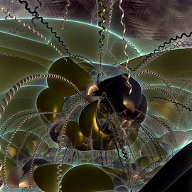 Boing! by Rick Eskridge - Illustration Sci Fi & Fantasy ( fantasy, jwildfire, mb3d, fractal, twisted brush )