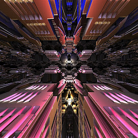 Articulated Act of Kinetic Knowledge by Ricky Jarnagin - Illustration Abstract & Patterns ( mandelbulb 3d, abstract art, fractal, geometric, abstract )