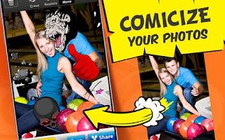 Screenshot of Photo Comics