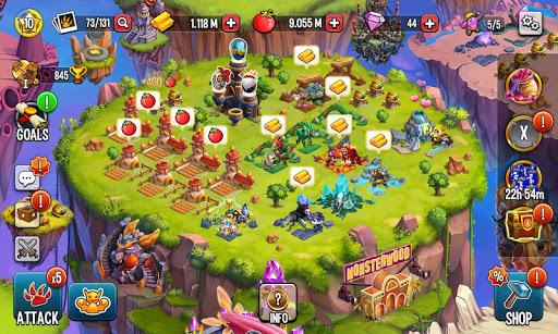 Monster Legends [Mod] – Damage, Always win