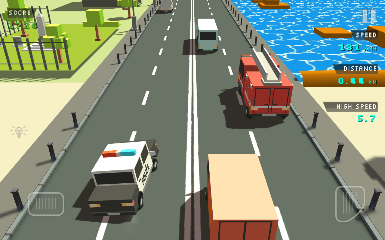 Blocky Traffic Racer Screenshot 2