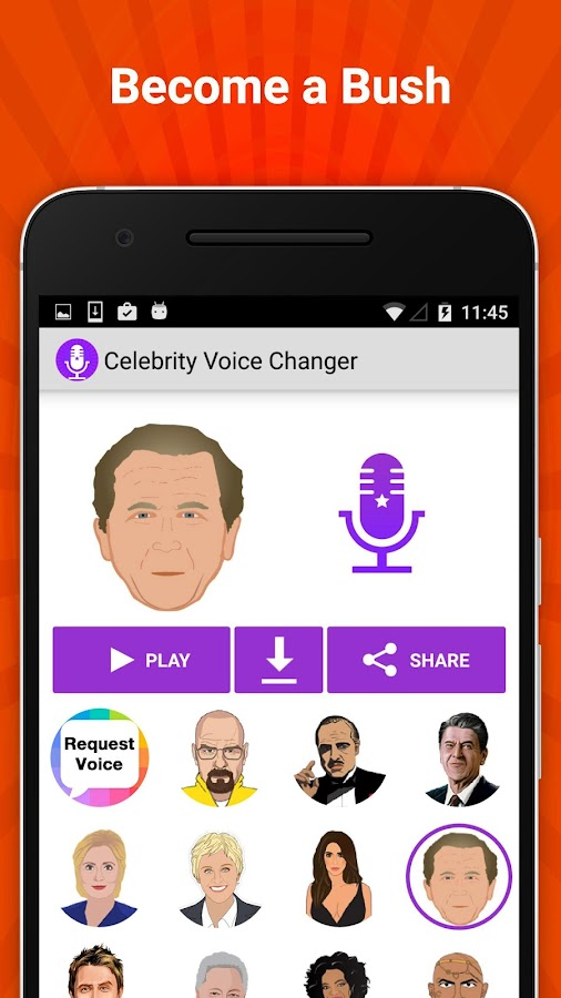 Celebrity Voice Changer Fun FX Screenshot 2