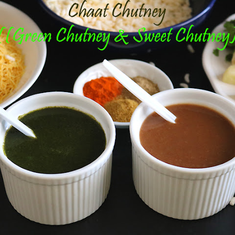 Green Chaat Chutney