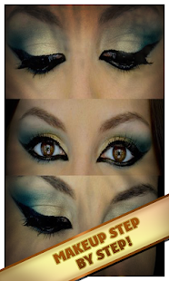 Make-up technique - screenshot