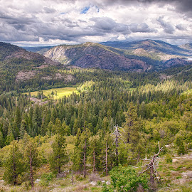 Emigrant Gap by DaneC Photo - Landscapes Mountains & Hills ( mountains, nature, camping, donner lake, forest, valley )